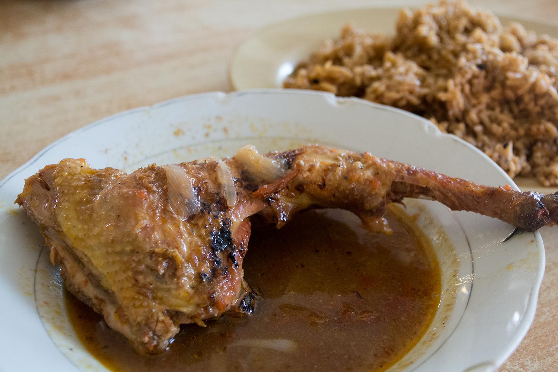 ルワンダの食堂