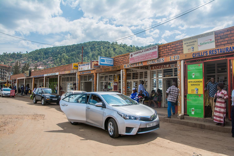 キガリのバスステーション