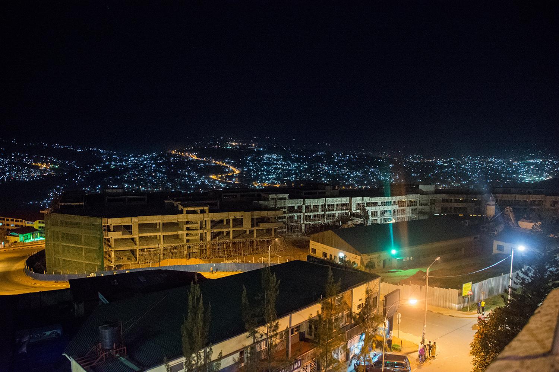 キガリの夜景