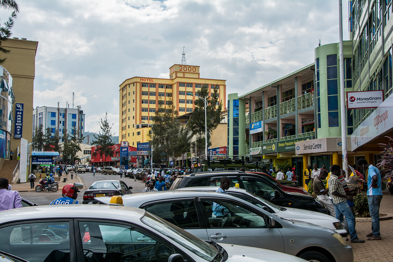 キガリの街並