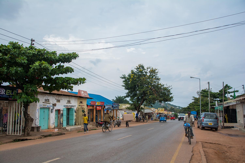 キゴマの街並