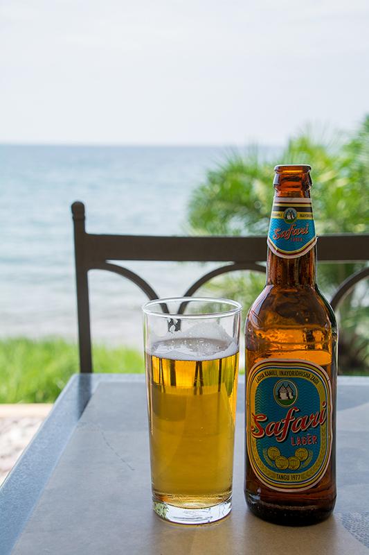タンザニアのビールSafari