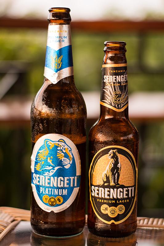 タンザニアのビールSERENGETI