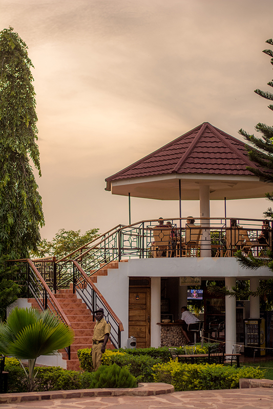 キゴマのホテル