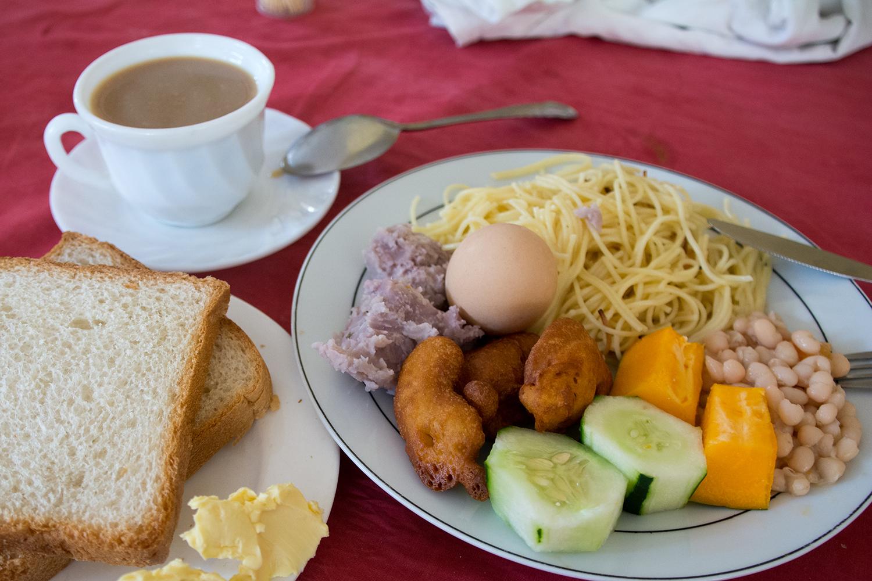 ビクトリアホテルアネックスの朝食