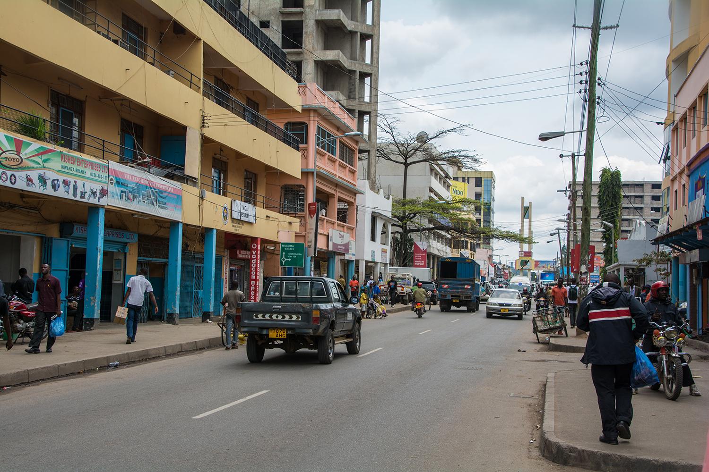 ムワンザの街並