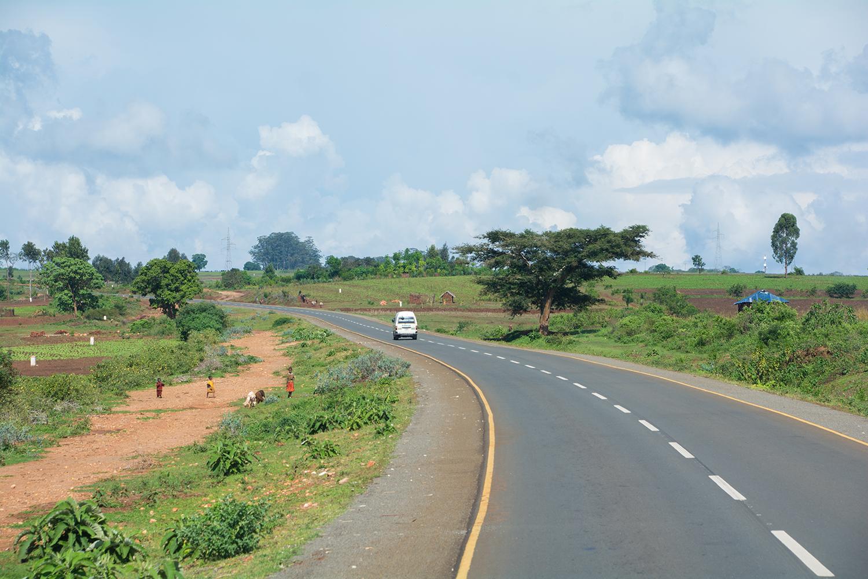 ムワンザからアルーシャの道のり
