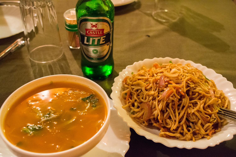 アルーシャの中華料理店