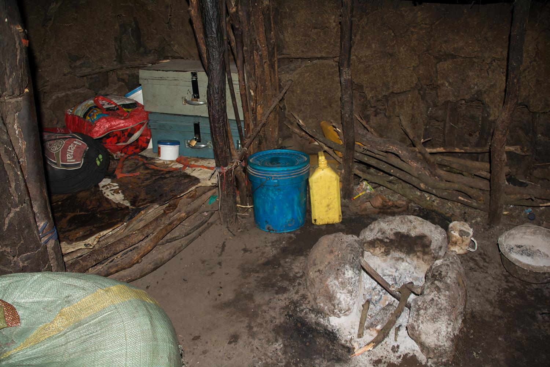 マサイ族の住居