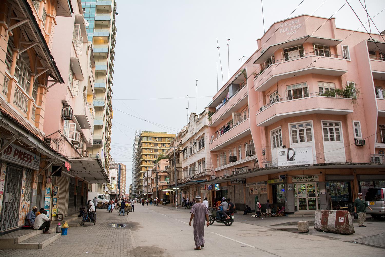 ダルエスサラームの街並