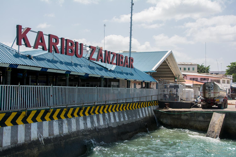 ザンジバル島到着