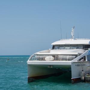 ダルエスサラーム~ザンジバルの船