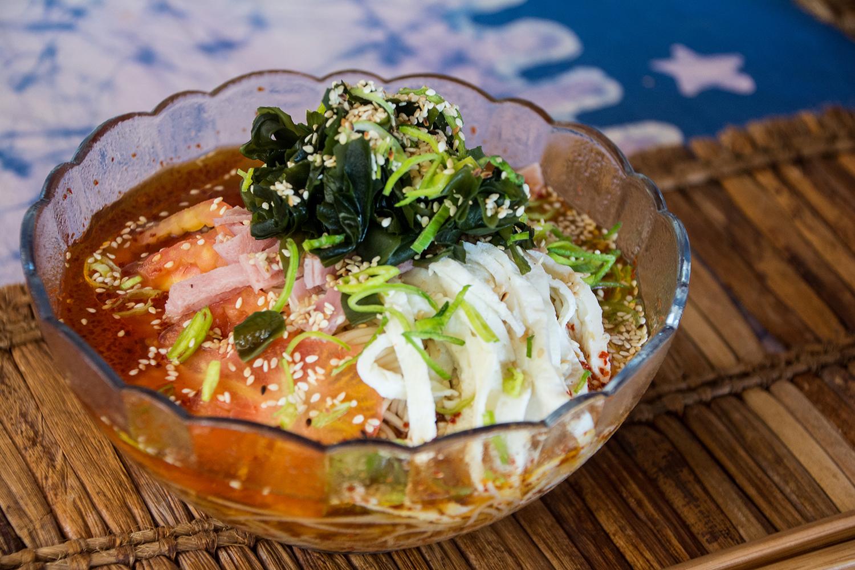 パラダイスビーチバンガローの冷麺