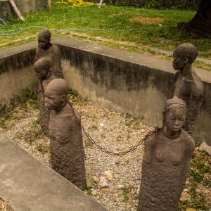 奴隷市場跡