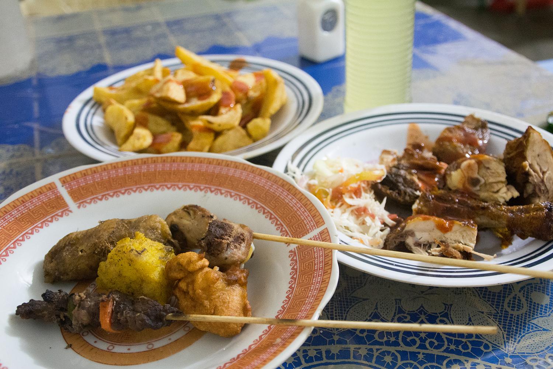 ヌングイのローカル食