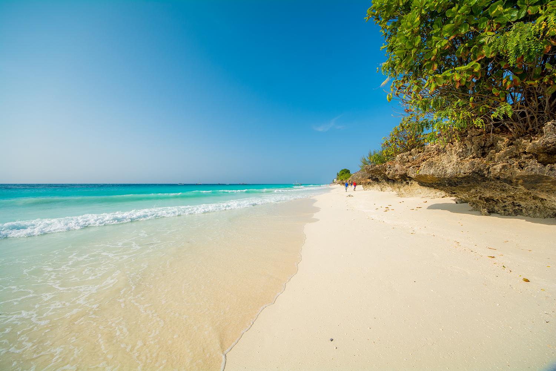 ヌングイのビーチ