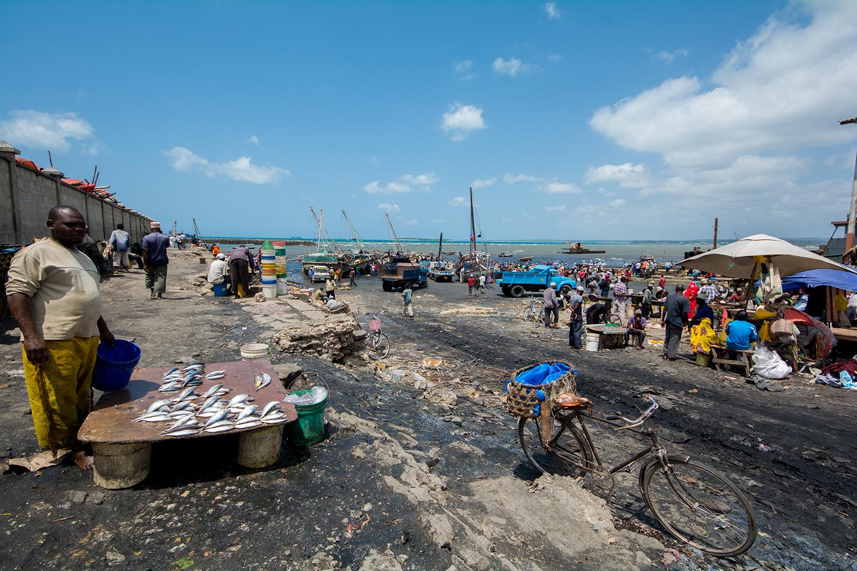 フングニ魚市場