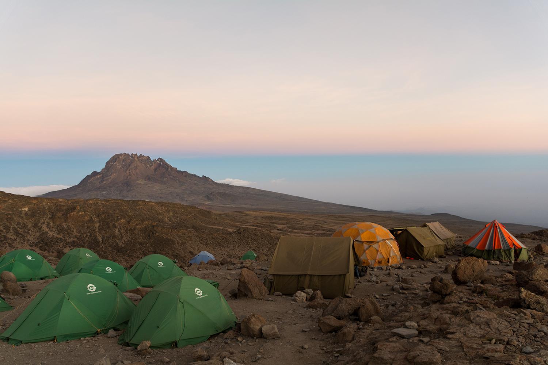 最終キャンプ地