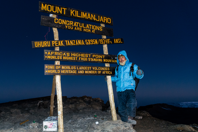 世界七大陸最高峰の1つキリマンジャロ