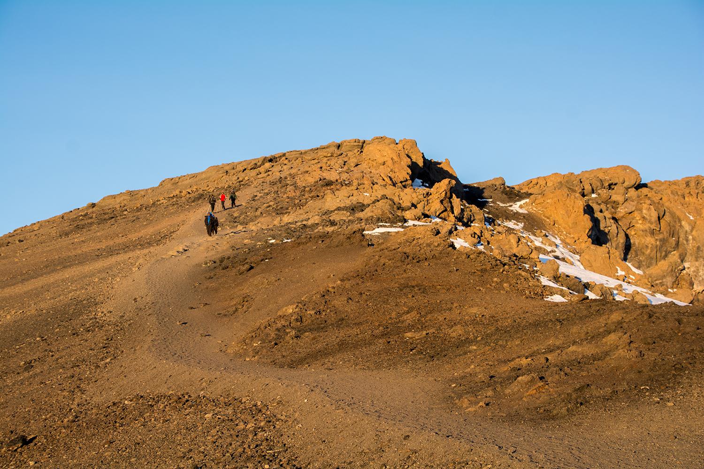キリマンジャロ下山