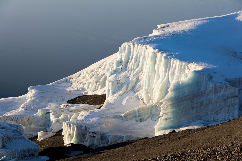キリマンジャロの氷河