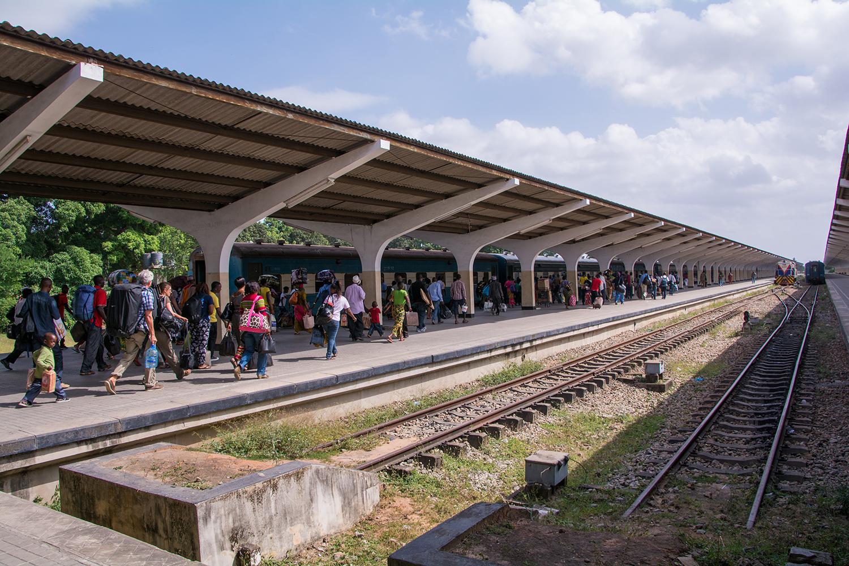 タンザン鉄道ダルエスサラーム駅