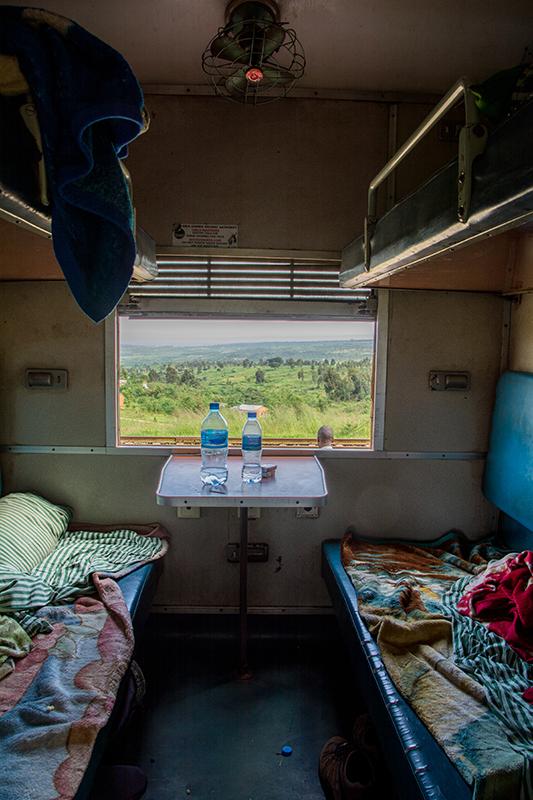 タンザン鉄道1等室