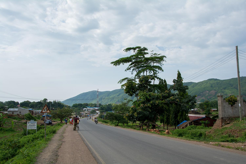 タンザニアとマラウィの国境付近