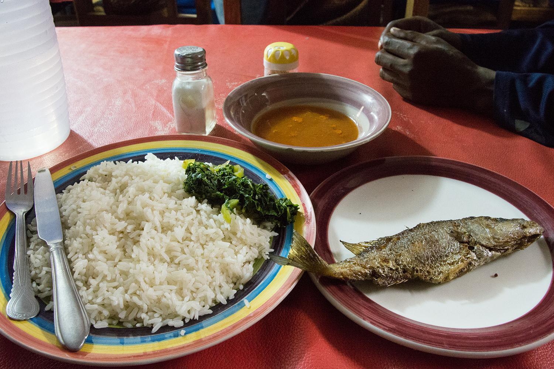 マラウィの魚