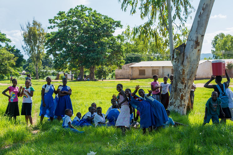 マラウィの子供達