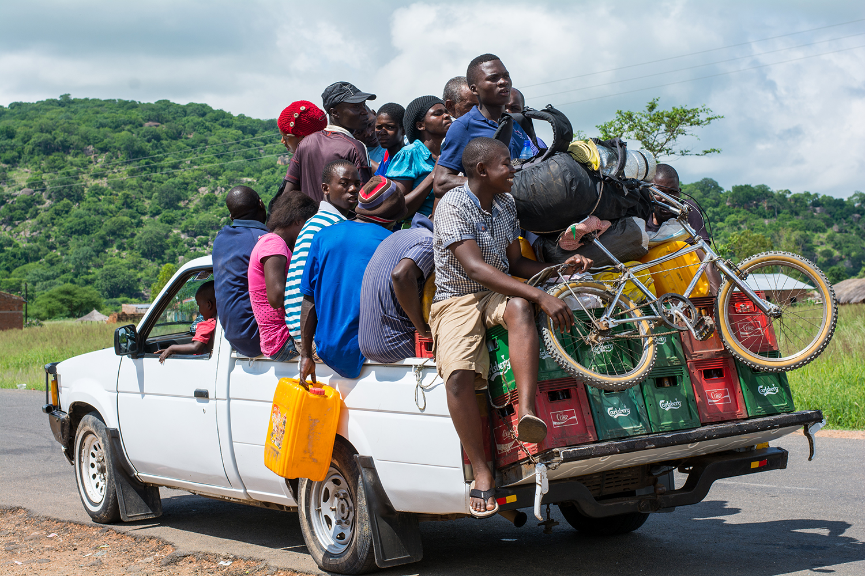 マラウィのトラック
