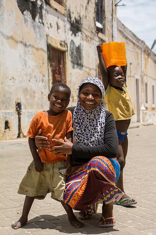 モザンビーク島の人