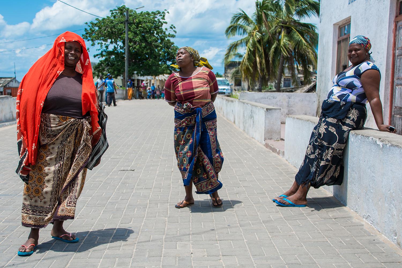モザンビーク島のおばちゃん