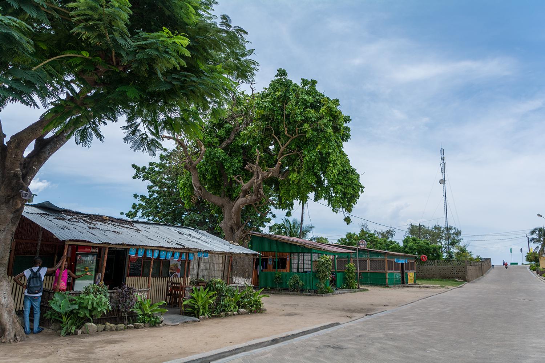 モザンビーク島の食堂