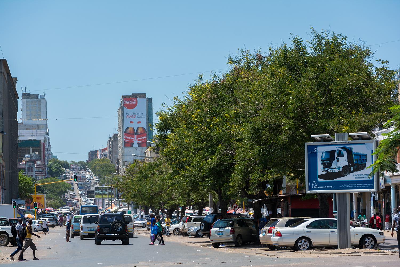 マプト市街