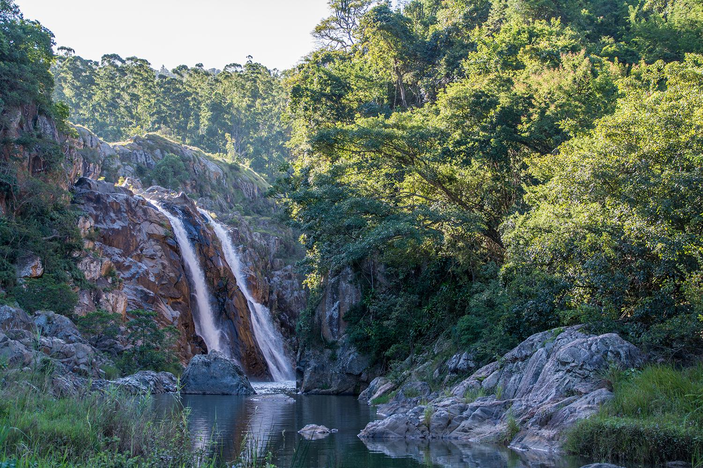 マンテンガの滝