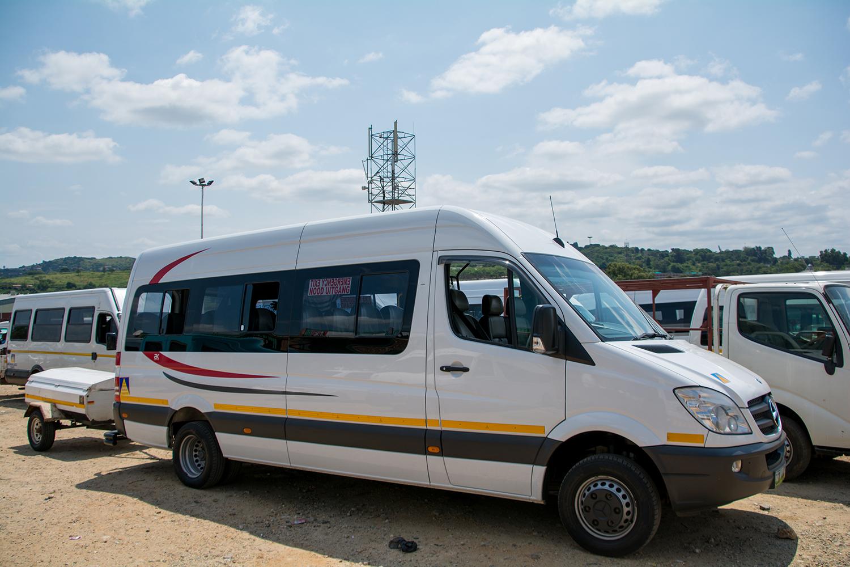 スワジランドのミニバス