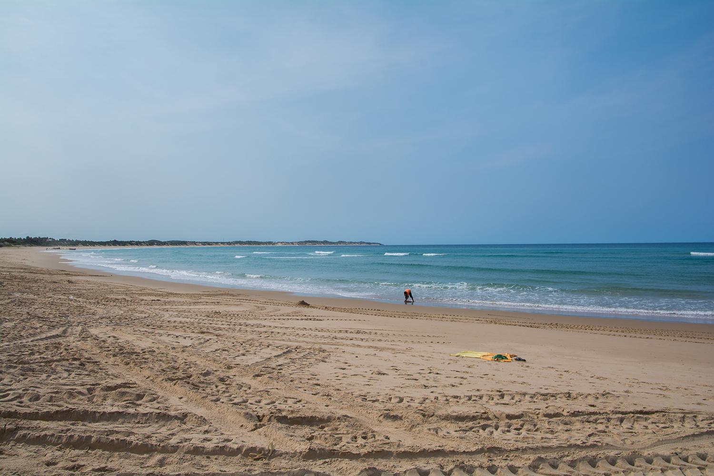 トーフのビーチ