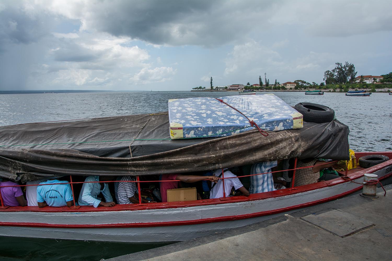 イニャンバネで乗った舟