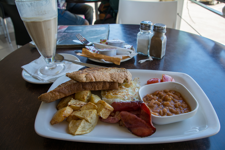 ハラレの朝食