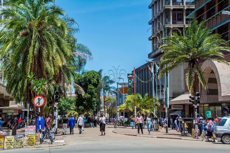 ジンバブエの銀座