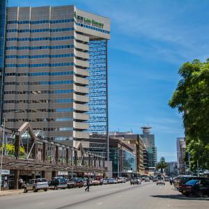 ジンバブエのダウンタウン