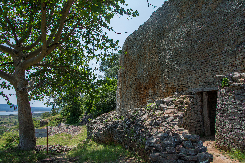 グレートジンバブエ遺跡