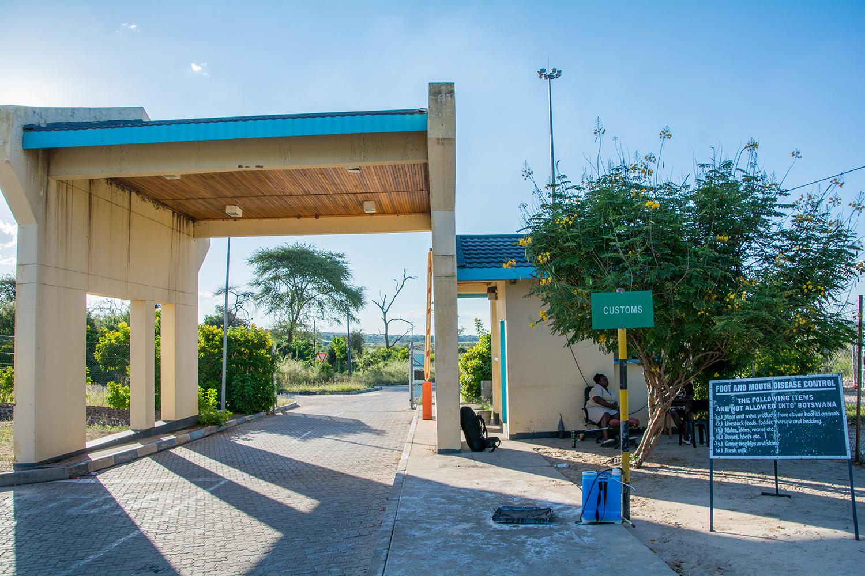 ジンバブエ、ボツワナの国境