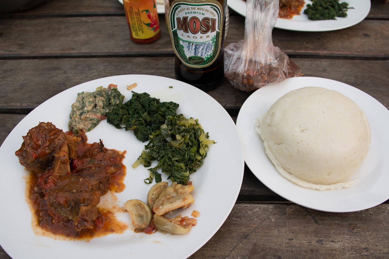 ザンビアの飯