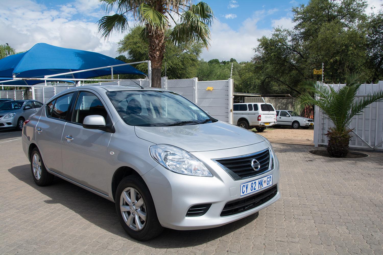 ナミビアのレンタカー