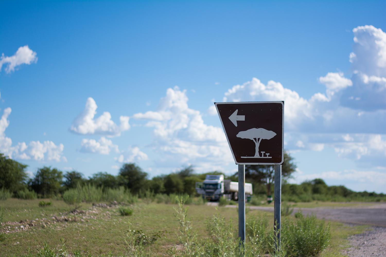 ナミビアの道