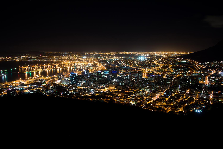 シグナルヒルの夜景