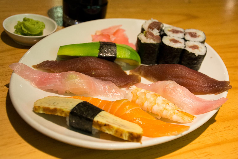 ケープタウンの寿司屋