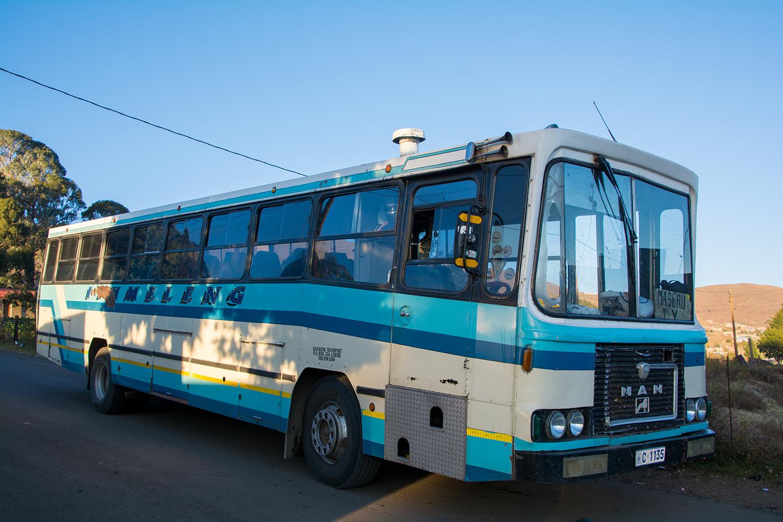 マセル行きのバス